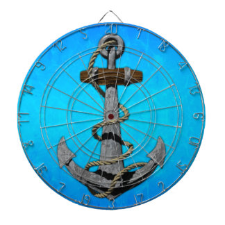 Ship Anchor Dartboard With Darts