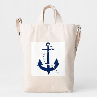 Ship & Anchor Duck Canvas Bag