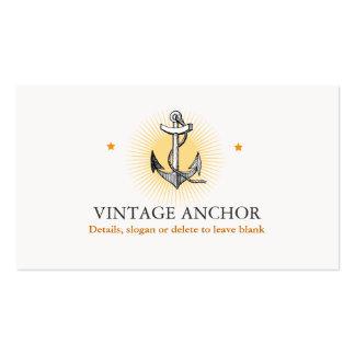 Ship Anchor Sailing Nautical Vintage Business Cards