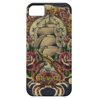 ship and crabs iPhone 5 cases