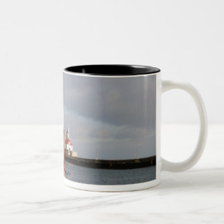 Ship and Lighthouse, Duluth Minnesota Coffee Mugs