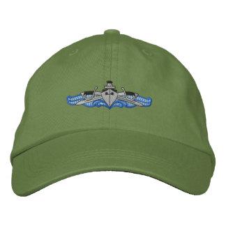 Ship and Sabers Embroidered Baseball Caps
