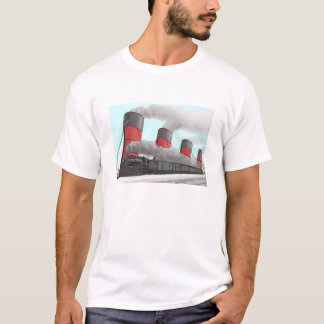 Ship and Train T-Shirt