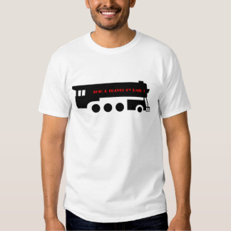 Ship and Travel By Railroad Train T Shirt