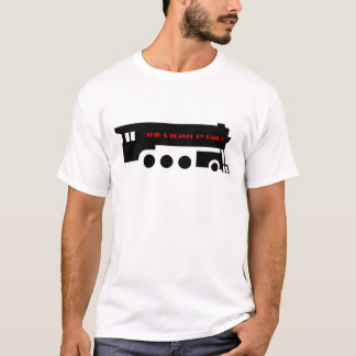 Ship and Travel By Railroad Train T-Shirt