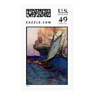 Ship Approach Postage