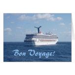 Ship at Sea Custom Greeting Card