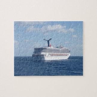 Ship at Sea Jigsaw Puzzle
