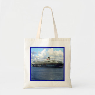 Ship Berthed in Bonaire Tote Bag