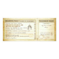 ship boarding pass wedding tickets-invites &amp; rsvp card (<em>$2.57</em>)
