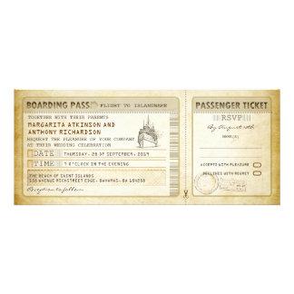 ship boarding pass wedding tickets-invites & rsvp
