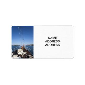 Ship Bow Label