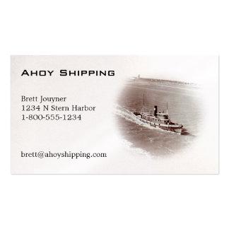 Ship Business Card
