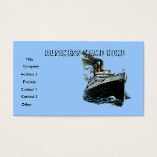 Ship ,business card