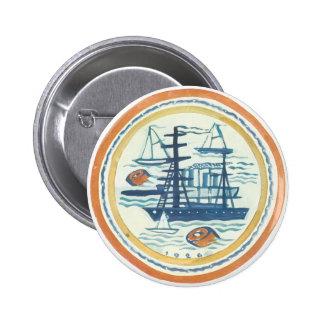 Ship Pinback Buttons
