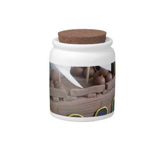 Ship cake 1 candy jar