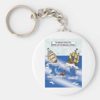 Ship Cartoon 9382 Keychain