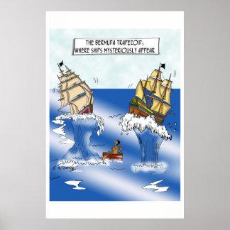 Ship Cartoon 9382 Poster