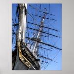 Ship (Cutty Sark) Poster