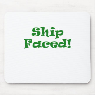 Ship Faced Mouse Pad
