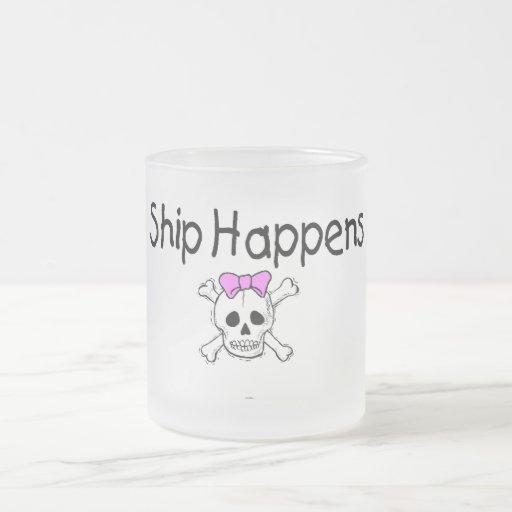 Ship Happens Coffee Mugs