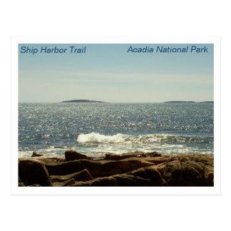 Ship Harbor Trail Post Card