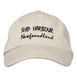 Ship Harbour NL cap Embroidered Baseball Cap