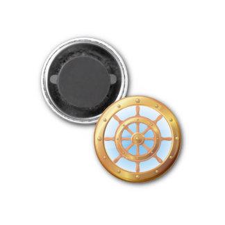 Ship Helm Magnet