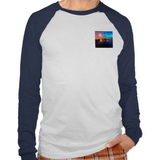 Ship in a awesome sunset t shirts