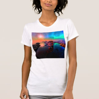 Ship in a awesome sunset tshirts
