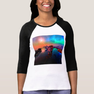 Ship in a awesome sunset shirt