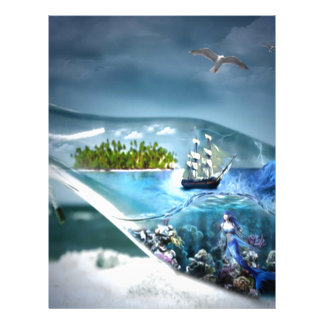 Ship in a Bottle Letterhead