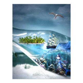 Ship in a Bottle Letterhead