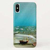 Ship-in-a-Bottle Wreck iPhone Case