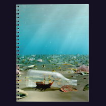 Ship-in-a-Bottle Wreck Notebook