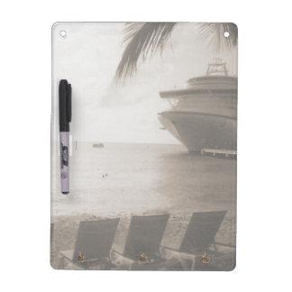 Ship in Sepia Dry-Erase Boards
