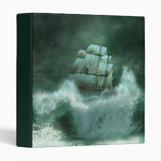 Ship in Storm Binder