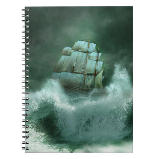 Ship in Storm Notebook