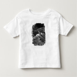 Ship in stormy sea toddler t-shirt