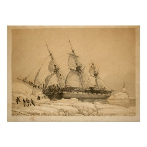 Ship in the Ice Poster