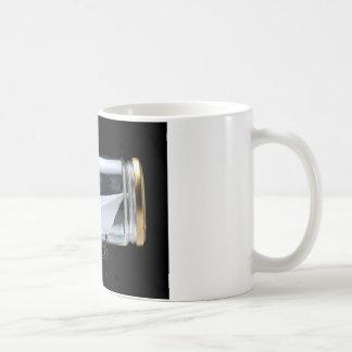 Ship in the jar classic white coffee mug