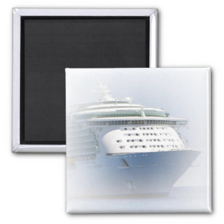 Ship in the Mist  Magnet