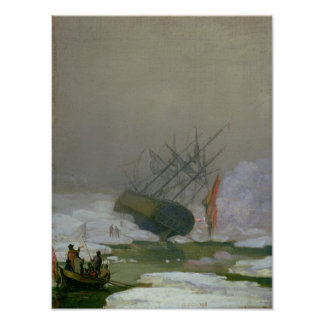 Ship in the Polar Sea, 12th December 1798 Poster