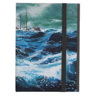 Ship In the Sea in Storm Case For iPad Air