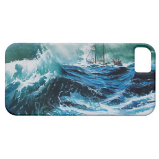 Ship In the Sea in Storm iPhone SE/5/5s Case