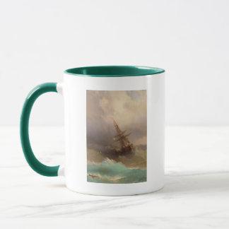 Ship in the Stormy Sea Mug