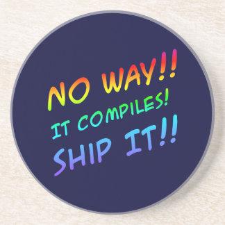 Ship It!! Tech Humor Coaster