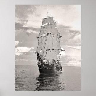Ship Joseph Conrad Poster