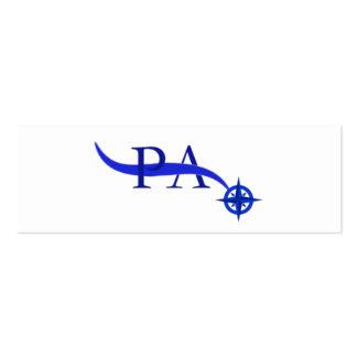 Ship Logo: Prometheus Ascendant Logo Business Card