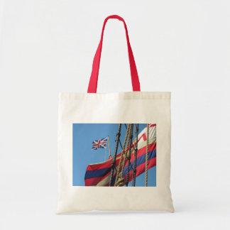 Ship Masts at Historic Jamestowne Tote Bag